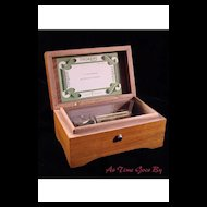 Vintage Two Tune Swiss Music Box - Thorens