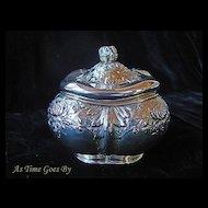 Antique Sterling Silver Tea Caddy - Gorham
