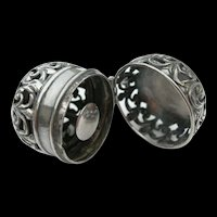 Chatelaine Thimble Case - Sterling Silver - Foster & Bailey