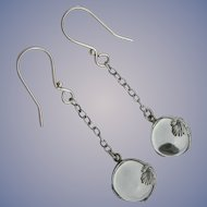Pools of Light - Sterling Silver - Victorian Earrings