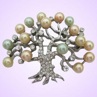 Pennino Sterling - Tree - Pin Brooch