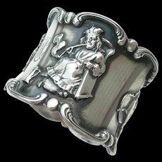 Gorham Sterling - Old King Cole - Napkin Ring