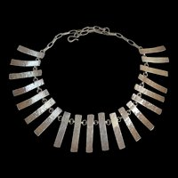 Toni Catanzaro - Sterling Silver - Modernist Necklace-