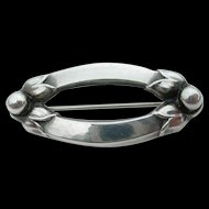 Georg Jensen - Sterling Silver - Pin Brooch - #141