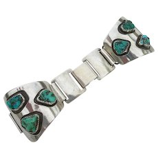 Alberto Contreras - Sterling Silver & Turquoise - Watch Bracelet