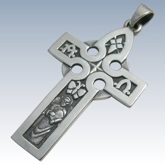 James Avery - Sterling Silver - Alpha Omega Cross Pendant
