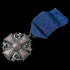 Finland Order of the White Rose Cross by Tillander - 1941