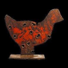 American Folk Art Chicken Sculpture - Americana