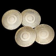 Double Sided Art Deco Cufflinks -10K Gold - Cuff Links - Men's or Women's Jewelry - Unisex - Fine Jewelry