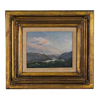 Hudson Valley Oil on Canvas by Listed artist Ron Schaefer