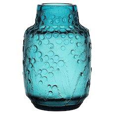 Daum Nancy Art Deco Vase with Acid Etched Decoration - French