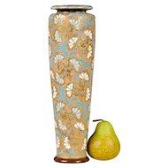 Royal Doulton Lambeth Slaters Patent Vase - Large - English