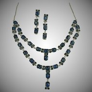 Kyanite & Sterling Necklace & Earrings.