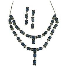 Kyanite & Sterling Necklace & Earrings.