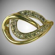Infinity Diamond Ring-10k-Size 7 1/2.