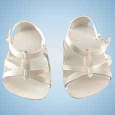 Vintage Original Ideal 1960's Baby Giggles Doll Shoes Sandals