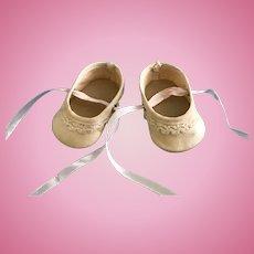 Vintage Ballet Flats Doll Shoes Terri Lee Madame Alexander Effanbee Arranbee