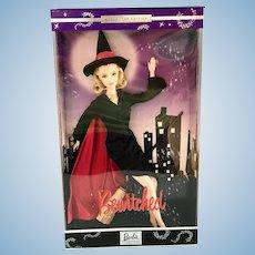NRFB 2001 Mattel Bewitched Samantha Elizabeth Montgomery Barbie Doll COA, 53510
