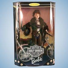 NRFB 1998 Mattel Barbie Collector's Edition Harley Davidson w/ COA 20441