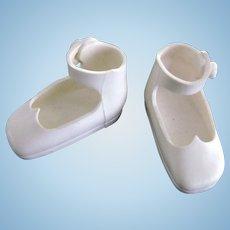 Vintage Original American Character Tiny Betsy McCall White Doll Shoes