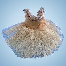 Vintage Original 1950's Madame Alexander Cissette Doll Ballerina Tutu Tagged