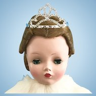 Doll Crown Tiara Vintage Madame Alexander Cissy Queen Glamour Girls Miss Revlon