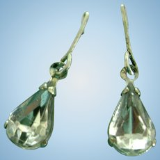 Vintage Original Madame Alexander Cissy & Elise Rhinestone Doll Earrings Jewelry for Miss Revlon too