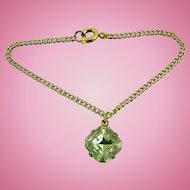 "Vintage Doll Jewelry Necklace ""Diamond"" Rhinestone Madame Alexander Cissy Miss Revlon"