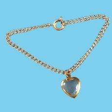 Vintage Doll Jewelry Heart Pendant Necklace Madame Alexander Cissy Miss Revlon