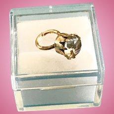 "Vintage Madame Alexander Cissy Doll Jewelry ""Diamond"" Ring Miss Revlon Toni"