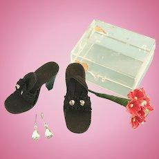 Vintage MIB Doll Shoes & Jewelry Madame Alexander Cissy Miss Revlon Toni Cindy