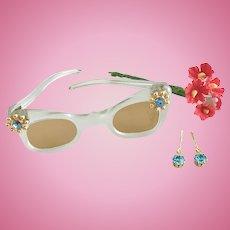 Vintage Orig Madame Alexander Cissy Doll Sunglasses Sun Glasses Terri Lee France
