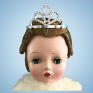 Doll Crown Tiara Vintage Madame Alexander Cissy Queen Glamour Girls Miss Revlon