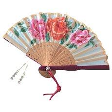 Vintage Doll Fan, Jewelry Madame Alexander Cissy Toni Miss Revlon German Bisque