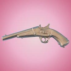 Vintage Doll Metal Pistol Gun Soldier George Washington Effanbee Skippy Arranbee