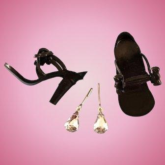 Vintage Doll Shoes,Jewelry Little Miss Revlon Miss Ginger Coty Girl Ms Nancy Ann
