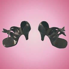 "Vintage Original Ideal Miss Revlon Doll Shoes High Heels 18 to 20"""