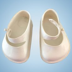 """Vintage 1950's Doll Shoes for Ideal Toni P92,19"""" Shirley Temple 16"""" Saucy Walker"""