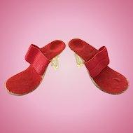 Vintage Doll Shoes High Heels for 22 inch Miss Revlon