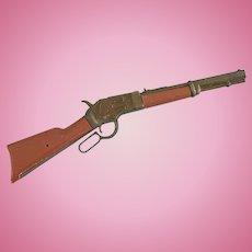 Vintage Doll Gun Rifle Cowboy Soldier Skippy Shirley Temple Terri Lee Gene Autry