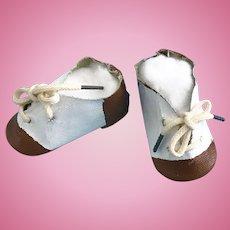 Vintage Oilcloth Saddle Shoes Terri Lee Toni Madame Alexander Shirley Temple