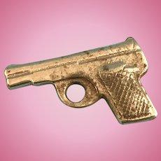 Vintage Doll Metal Gun Pistol Effanbee Soldier Skippy