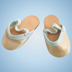 Vintage Madame Alexander Get Well Marybel Doll Shoe Slippers Toni Shirley Temple