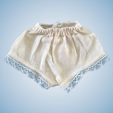 "Vintage Original 1950's Ideal 12"" Shirley Temple Doll Undies Underwear Panties"