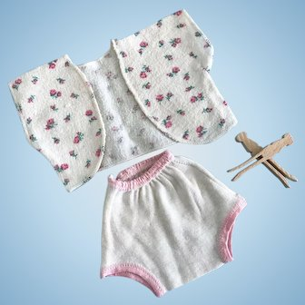 Vintage Doll Layette Set Underwear Clothes Madame Alexander Dy-Dee Tiny Tears