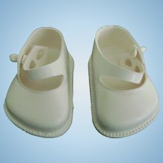 Vintage Original Tiny Terri Lee Arranbee Littlest Angel Lil Imp White Doll Shoes