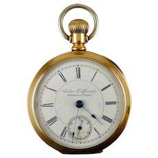 """Rare Seth Thomas """"Dueber 14K Special"""" Case Lever-Set, Pocket Watch"""