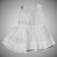 "Antique cotton petticoat for 7"" doll"