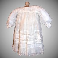 Antique 2 piece outfit 19th century, large doll