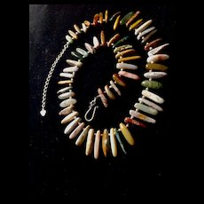Ocean Jasper Choker Necklace, 17 - 19.5 Inches